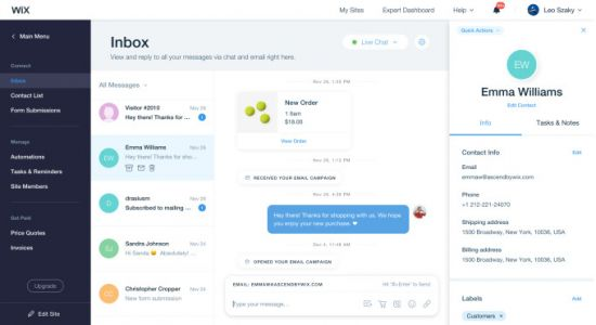 Wix launches a new suite of products for support, sales and marketing