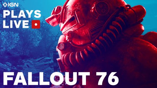 Watch Us Stream Two More Hours of Fallout 76 on IGN Plays Live