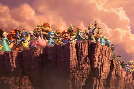 Cops called to handle 'Super Smash Bros. Ultimate' noise end up playing the game