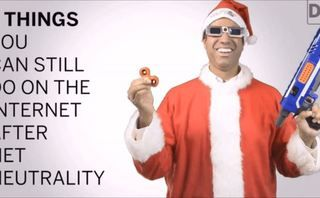 Ajit Pai is so cocky over net neutrality he's dressing as Santa to take the p*ss
