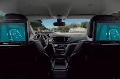 This tweet reminded me that driverless cars can still blow our minds
