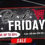 Black Friday Kicks Off on Geekmaxi - Savings for up to 80%!