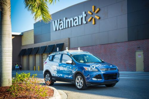 Ford teaming up with Walmart and Instacart on robot deliveries