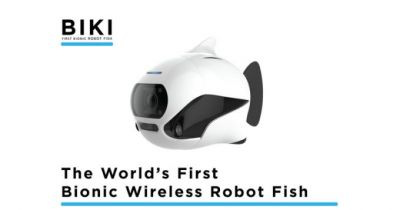 BIKI is a drone that can dive and swim but not fly