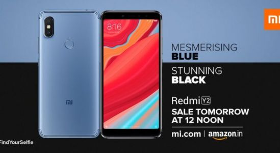 Xiaomi Redmi Y2 Blue & Black Versions Now On Sale