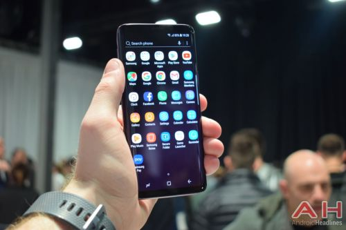 Hands On With The Samsung Galaxy S9 - MWC 2018
