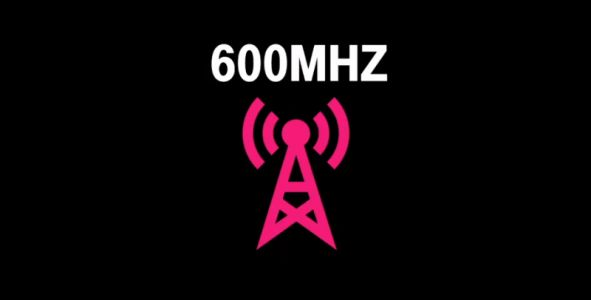 T-Mobile 600MHz LTE coverage shown on map