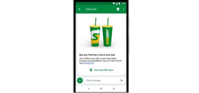 Google-led successor to SMS is a boon for mobile operators
