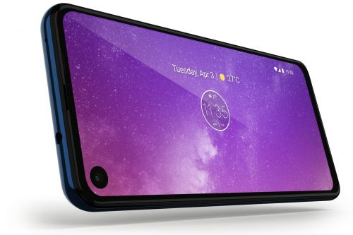 The Motorola One Vision has a 21:9 screen and looks less like an iPhone clone