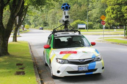 Google Street View cars will help to map out the air quality in London