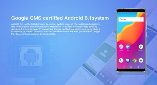 Experience Android 8.1 Oreo with the latest AllCall S1
