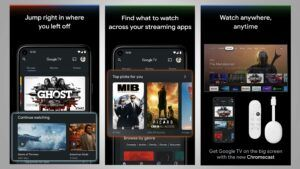 Google TV app might work as a TV remote in the future