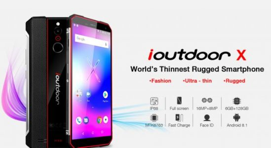 Ioutdoor to Release Thinnest Rugged Phone Ever - The ioutdoor X!