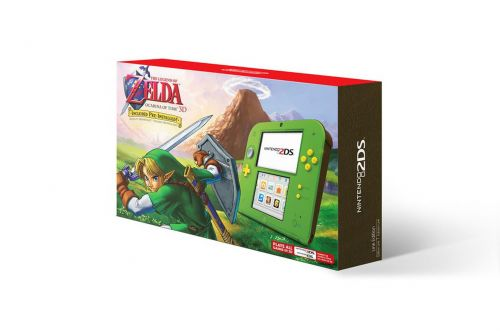 Nintendo is releasing a limited edition Ocarina of Time Zelda 2DS for Black Friday