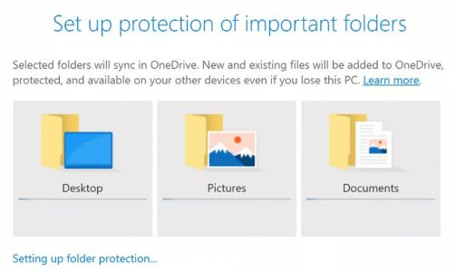 OneDrive makes it easier to backup your desktop clutter