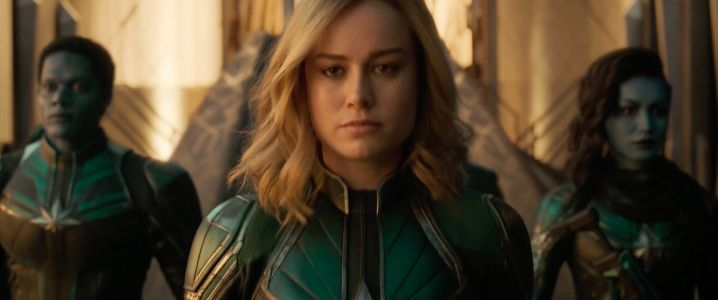 The first 'Captain Marvel' trailer introduces Brie Larson as the Marvel Cinematic Universe's newest superhero, and she punches an old lady