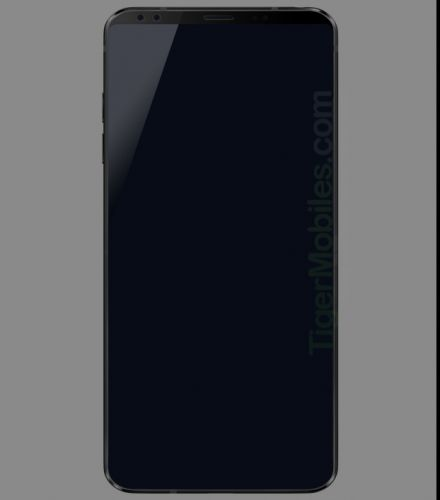 New LG G7 render shows off even slimmer bezels than expected