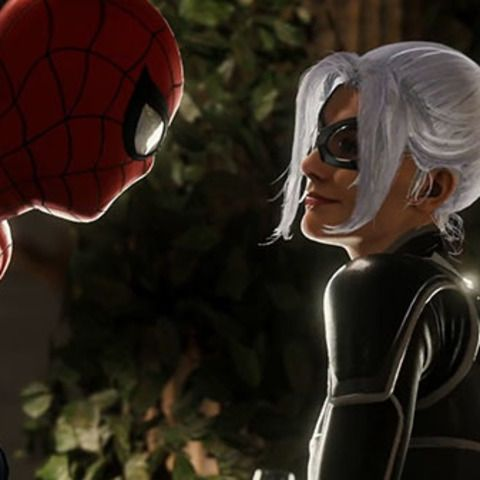 "Marvel's Spider-Man New Game Plus and ""The Heist"" DLC Live"