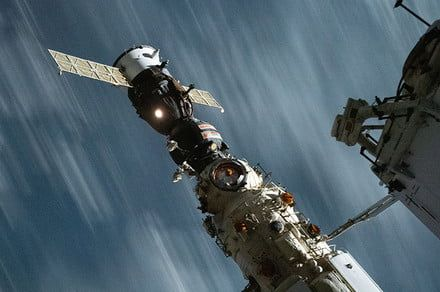 Russian cosmonaut and film crew returned safely to Earth from space station