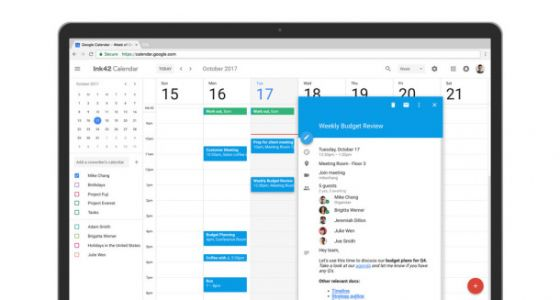 Google Calendar has been completely redesigned and it's so much better