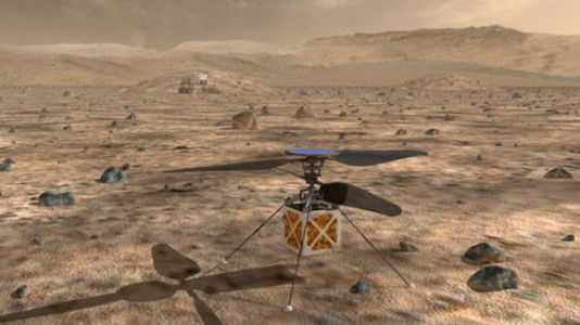 NASA Will Send a Helicopter to Mars With 2020 Mission