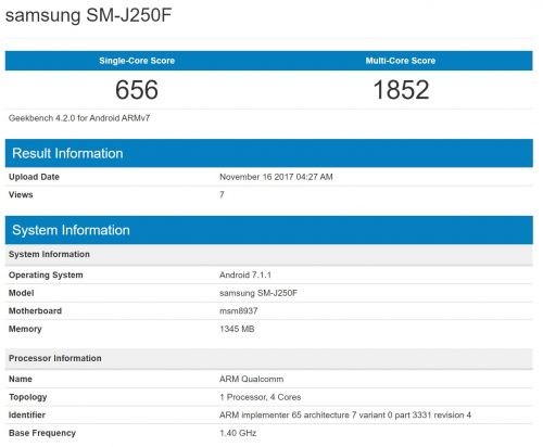 Galaxy J2 Pro (2018) Inadvertently Confirmed By Samsung