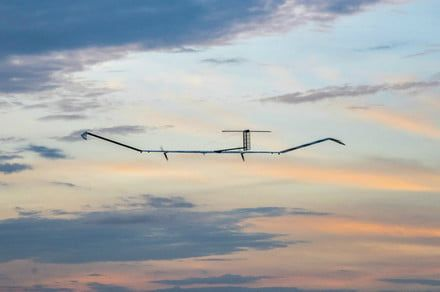 Facebook hasn't given up on the idea of building an internet drone
