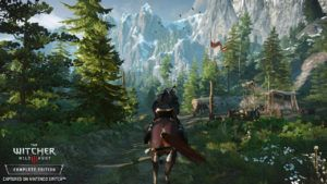 The Witcher 3 Nintendo Switch version's resolution confirmed
