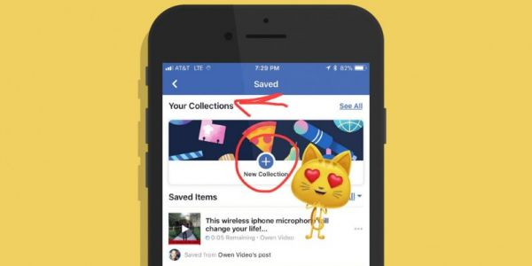 Facebook's testing an Instagram-style 'Collections' feature for saved posts