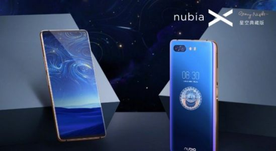 Nubia X Dual Screen Phone with 512GB of storage released, It's called Starry Night