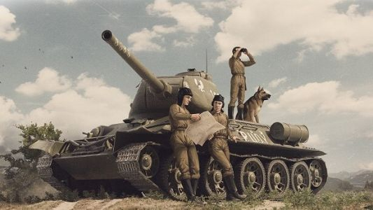 Four Tank-Men and a Dog: the Rudy
