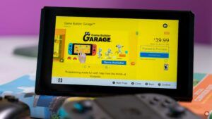 Nintendo's Game Builder Garage is now available