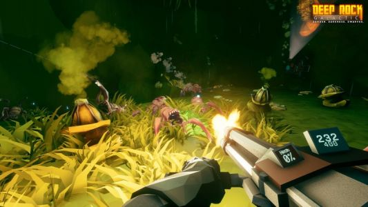Deep Rock Galactic will run at 1800p on Xbox One X, maintains 60 FPS