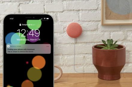 Finally, you can use a Google Nest smart speaker or display to find an iPhone
