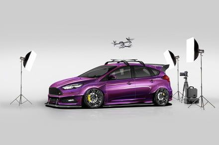 Ford heads to SEMA 2017 with a drone-launching Focus ST