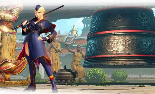 Falke Joins Street Fighter V Roster On April 24