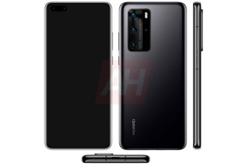 Detailed P40 Pro renders complete the next-gen Huawei set