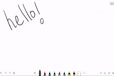 Microsoft's Whiteboard app leaks, shows the future of Windows 10 stylus support