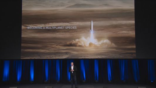 Elon Musk's Mars dream hinges on a giant new rocket