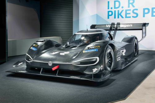 VW's electric Pikes Peak racer accelerates faster than an F1 car
