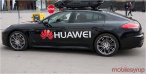 Huawei launches 5G hardware for automotive industry