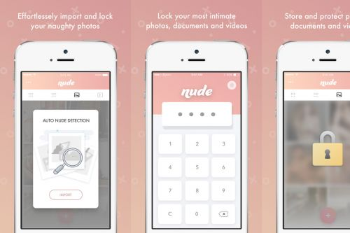 Nude is a next-generation photo vault that uses AI to hide your sensitive photos