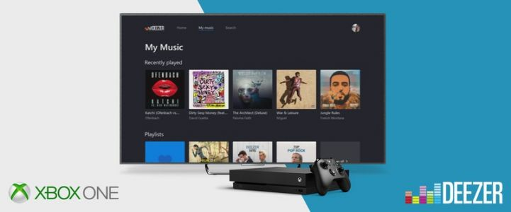 Music streaming service 'Deezer' launches on Xbox One