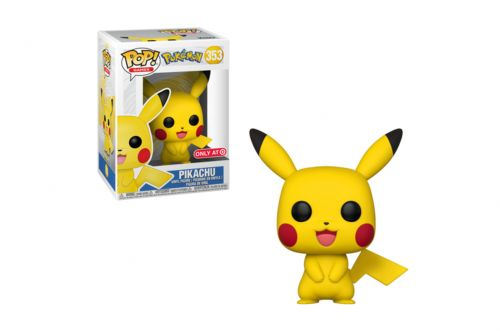 The Pikachu Funko Pop has no light in its eyes, and it's distressing