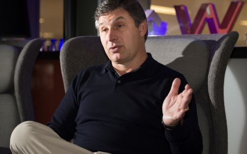 Twitter's number two Anthony Noto takes flight