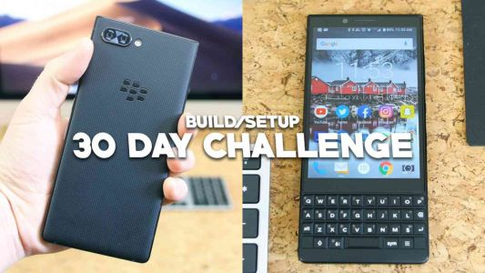 BlackBerry Key2 30 Day Challenge: Display Bezels, Convenient Buttons, and App Tutorial Screens