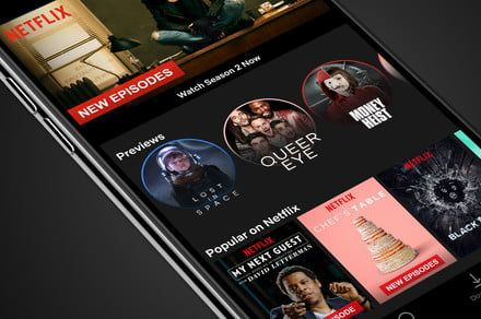 Take Netflix's video previews on the go in a mobile-friendly format