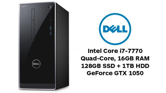 Daily Deals: Dell Intel Core i7 Quad Dual Drive GTX 1050 Gaming PC for $699.99
