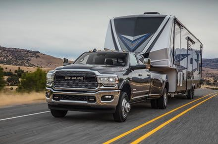 Move mountains with the 2019 Ram Heavy Duty and its 1,000 pound-feet of torque