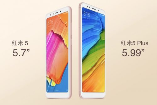 Xiaomi's $120 Redmi 5 and $150 Redmi 5 Plus are now official with 18:9 displays